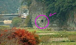 2008大分5・橋から青の洞門1.JPG