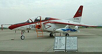 2008芦屋航空祭8・レッドドルフィン横.JPG